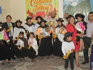 """Huánuco: Presentación del """"Carnaval Tinkuy"""""""