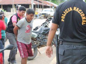 Madre de Dios: Condenan a tres años de cárcel a sujeto por robar a comerciante
