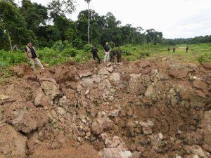 Ministro del Interior supervisa destrucción de pistas clandestinas del narcotráfico