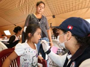 Minsa desarrolló campaña regional de salud en San Martín