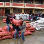 Municipalidad de Huánuco recibe 43 toneladas de papa