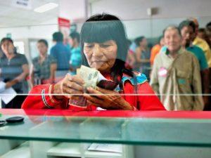 Pensión 65 garantiza pago a usuarios de la Amazonía y el Vraem