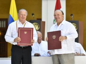 Perú y Colombia suscriben acuerdo para fortalecer cooperación en Defensa