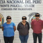 Policía del Vraem interviene local nocturno y detiene a tres presuntos proxenetas