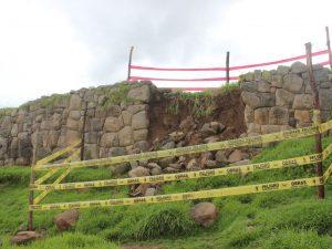 Ayacucho: Exigen mantenimiento de centro arqueológico en Vilcas Huamán