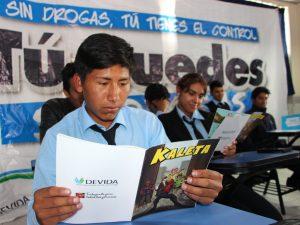 Ayacucho: Inician campaña de prevención del consumo de drogas en Semana Santa