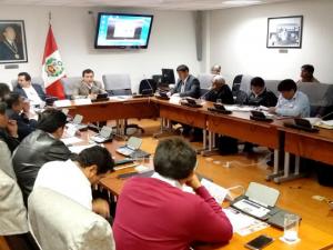 Comisión especial parlamentaria de apoyo al Vraem reiniciará sesiones