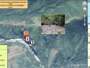 Cusco: Entregan ayuda humanitaria a damnificados por huaico en distrito de Ocobamba
