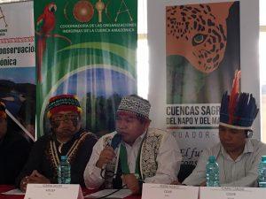 Declaración de Quito refuerza defensa de pueblos indígenas amazónicos