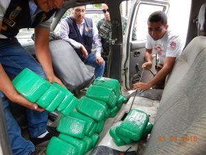 Decomisan 93 kilos de alcaloide de cocaína en Pangoa