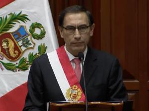 Martín Vizcarra es el nuevo Presidente de la República