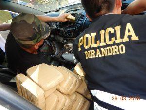 Policía decomisó unos 115 kilos de droga en el Vraem
