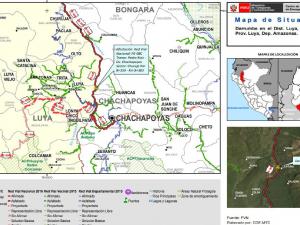 Prosigue rehabilitación de carreteras afectadas por lluvias en Amazonas