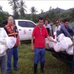 San Martín: Entregan 285 calaminas a damnificados por inundación