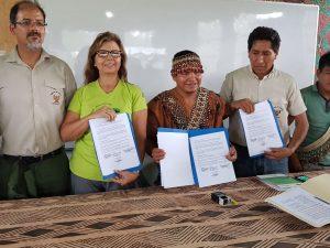 """Ucayali: Suscriben """"acuerdo azul"""" para proteger Parque Nacional Cordillera Azul"""
