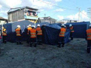 Loreto: Dan carpas a damnificados de incendio en Belén
