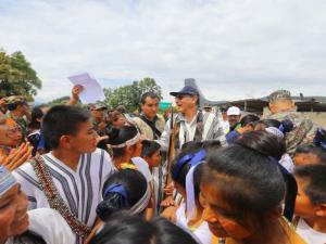 Junín: Presidente Martín Vizcarra supervisó labores en Pangoa