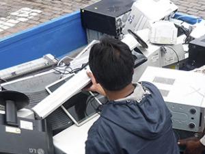 Implementan puntos de acopio de residuos de aparatos eléctricos y electrónicos