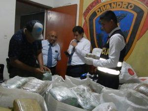 Tumbes: Policía decomisa más de 1 100 kilos de droga en 2018