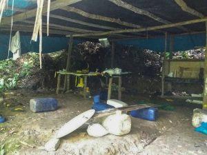 Vraem: Destruyen laboratorio de cocaína y detienen a un sujeto