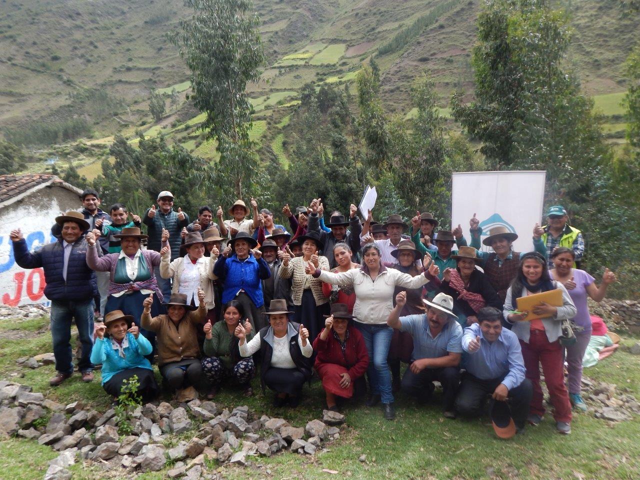 Ancash: Comités de usuarios del agua de Chullus y Pujun obtuvieron ...
