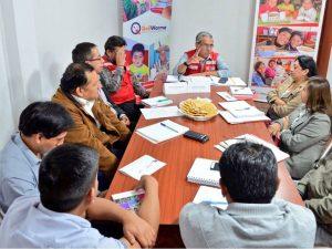 Ayacucho: Coordinan entrega de alimento escolar en colegios de dos provincias