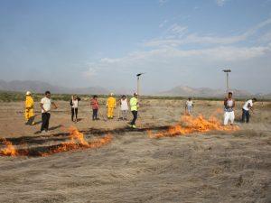 Capacitan brigadas comunales contra incendios forestales en Lambayeque