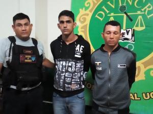 Desarticulan dos bandas delincuenciales en Ucayali