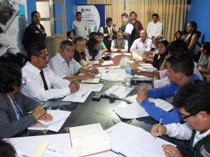 Huánuco: Coordinan recuperación de faja marginal del río Huallaga