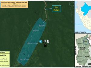 Loreto: Entregan alimentos a afectados por inundación en distrito de Andoas