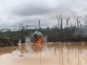 Madre de Dios: Nuevo operativo contra la minería ilegal en La Pampa