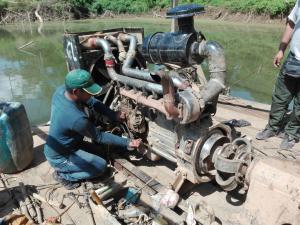 Madre de Dios: Realizan dos operativos contra la minería ilegal