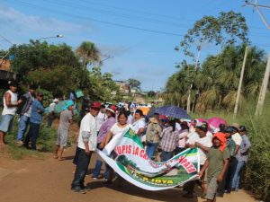 Madre de Dios: Toman vía de ingreso a la Reserva Nacional Tambopata