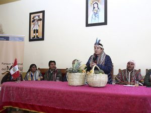 Ministra Fabiola Muñoz destaca importancia del Parque Nacional del Manu