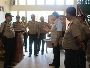 Ministro Mauro Medina supervisó estrategia policial en Pucallpa