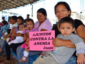 Promueven reducción de la anemia en comunidades nativas de Junín