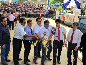 San Martín: Optimizan instalaciones de escuela en La Banda de Shilcayo
