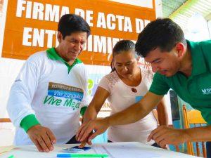 San Martín: Seis comunidades se suman a programa de desarrollo alternativo