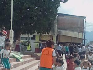 Tocache: Simulacro de sismo fue acatado en su totalidad