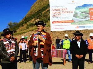 Vía Huancavelica – Lircay ya es eje integrador para Huancavelica, Ayacucho y Junín