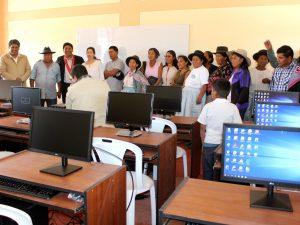 Ayacucho: Inauguran infraestructura educativa en Jesús Nazareno