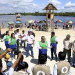Campaña Perú Limpio recogió 2.3 toneladas en la Fiesta de San Juan Bautista