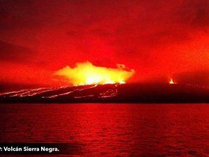 Detallan alcances de actividad volcánica en Islas Galápagos