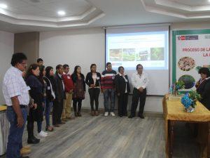 Juramenta comité de zonificación forestal en Huánuco