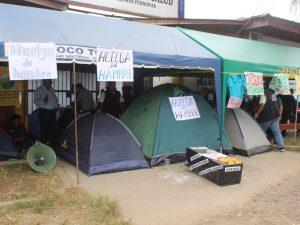 Madre de Dios: 13 trabajadores de salud tienen 48 horas de huelga de hambre