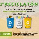 Minam alista Reciclatón por el Día Mundial del Ambiente