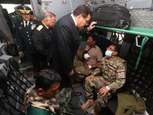 Ministro José Huerta: FFAA continuarán combatiendo a terroristas aliados al narcotráfico en el Vraem