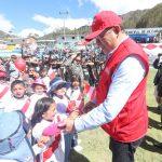 Ministro José Huerta destacó estrategia más agresiva en el Vraem