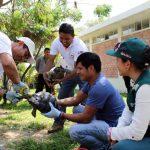Unas 26 tortugas galápagos rescatadas en Piura hace un año retornan a Ecuador