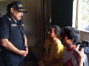 Ucayali: Policía rescata a menor de edad en operativo helitransportado